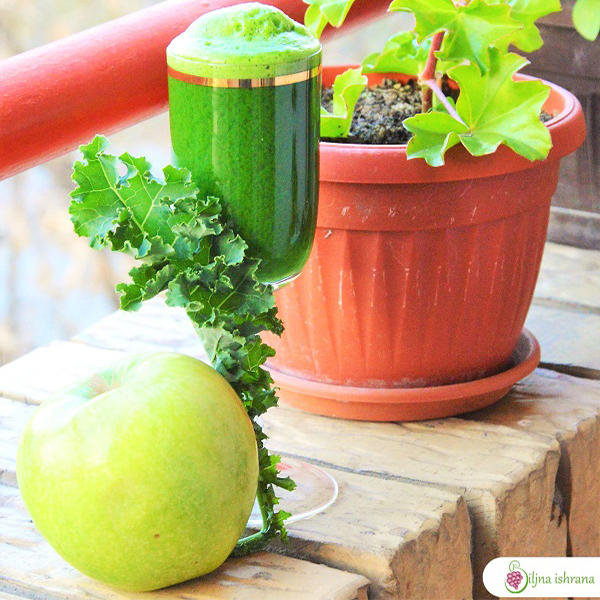 Bistar zeleni sok