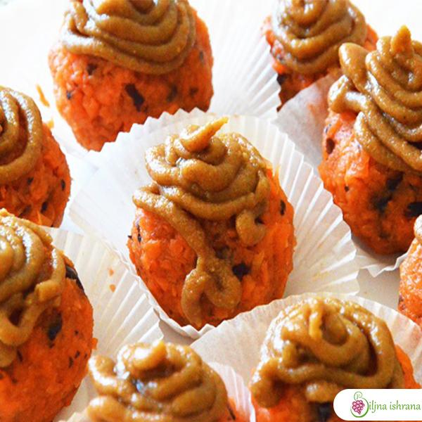 Sirovi meki kolačići sa šargarepom