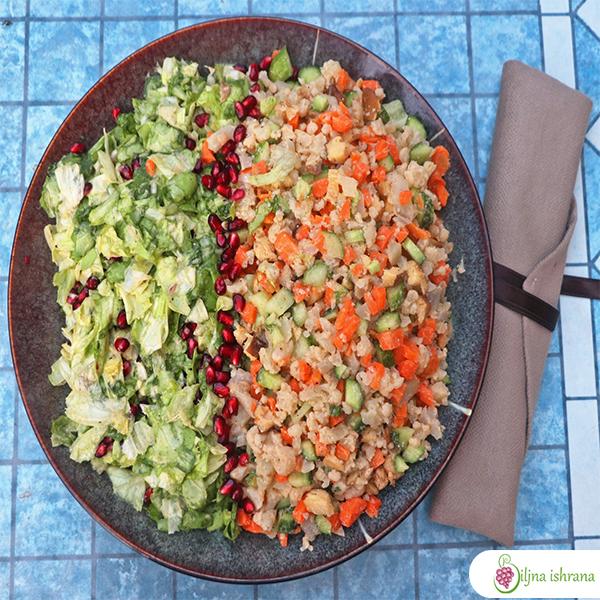 Sirova veganska ruska salata