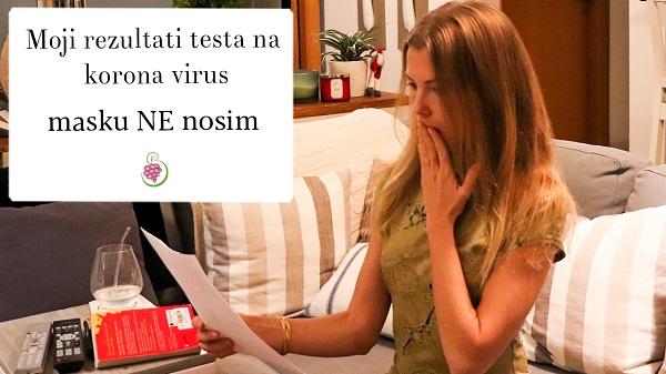 Moj rezultati na korona virus