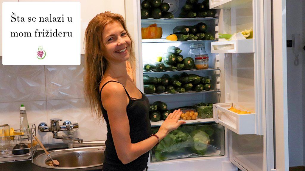 Šta je u mom frižideru – sirova, veganska ishrana